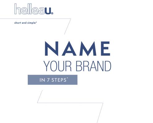 Brand Naming Mini Guide